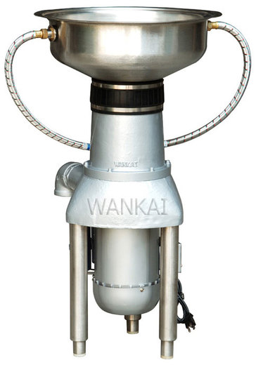 WANKAI Commercial 2HP otvor 15cm dřezová miska 45cm dvě trysky